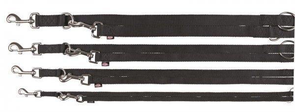 Trixie Premium V-snor, str. XS-S: 2,00 m/15 mm, sort