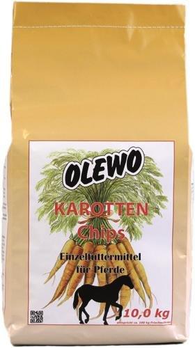 Olewo Gulerods-Chips til gnaver, 10 kg