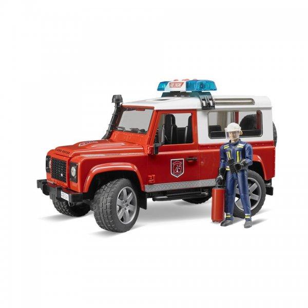 Land Rover Defender Station Wagon, brandbil med brandmand