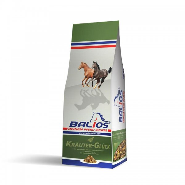 Balios Kräuter-Glück til heste, 20 kg