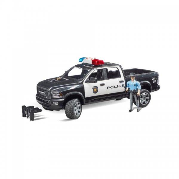 Bruder RAM 2500 Politi Pickup med politibetjent