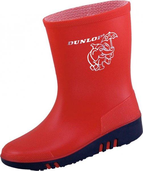 Dunlop Mini rød Børne fritids- og udendørsstøvle