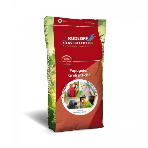Rudloff Papegøjefoder uden nødder, 20 kg