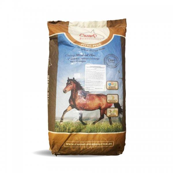 Champ Mineral Plus til heste, 25 kg