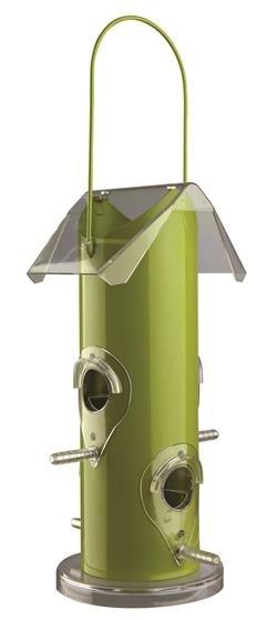 Trixie Undendørs Foderautomat til vildtfugle, 14 x 25 x 14 cm, grøn