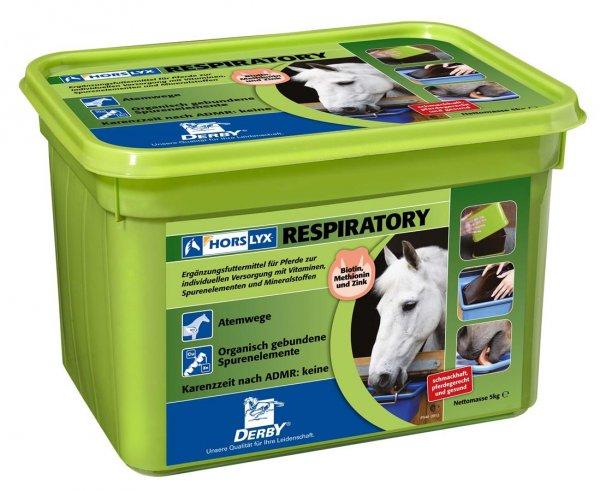 Derby® Horslyx sliksten til heste, Respiratory, 5 kg