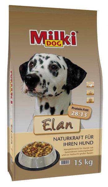 Milki Dog® Elan, Hunde tørfoder, 15 kg