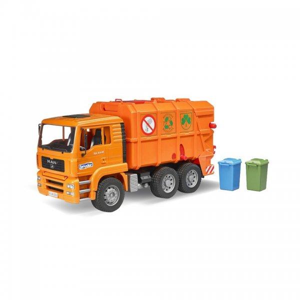 Bruder MAN TGA Renovations-Lastbil, orange