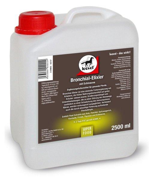 Leovet Bronkier-Elixir til heste, 2500 ml