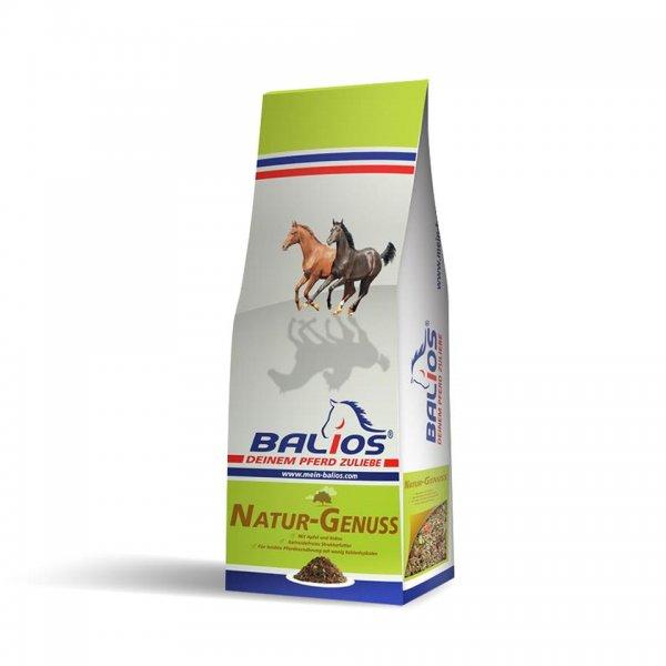 Balios Natur-Genuss struktur foder til heste, 15kg