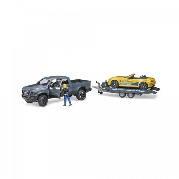 Bruder RAM 250 Power Wagon & Roadster Bruder Racing Team