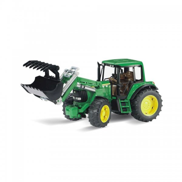 Bruder John Deere Traktor 6920 med frontlæsser