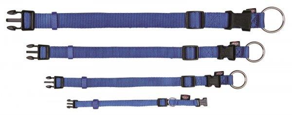 Trixie Premium halsbånd, str. XS-S: 22-35 cm/10 mm, blå