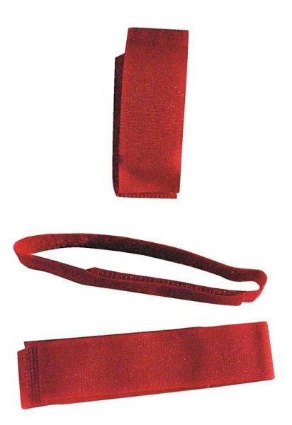 Ryom Ankelbånd med velcro, rød, 10 stk.
