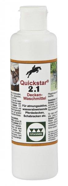 Quickstar® 2.1, Premium vaskemiddel til hestedækken, 250 ml