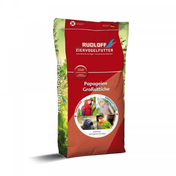 Rudloff Parakitfoder, 25 kg