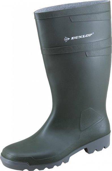 Dunlop PVC-Støvle Hobby lang, grøn