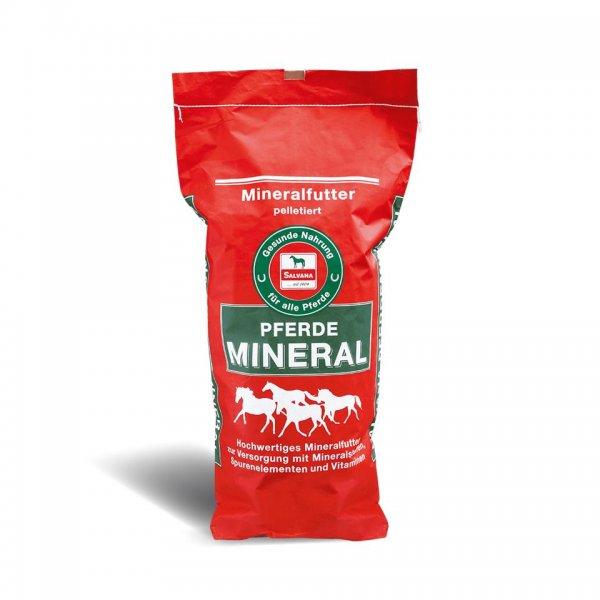 Salvana Hestemineral Mineralfoder, 25 kg