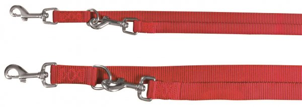 Trixie Premium V-snor, str. XS-S: 2,00 m/15 mm, rød