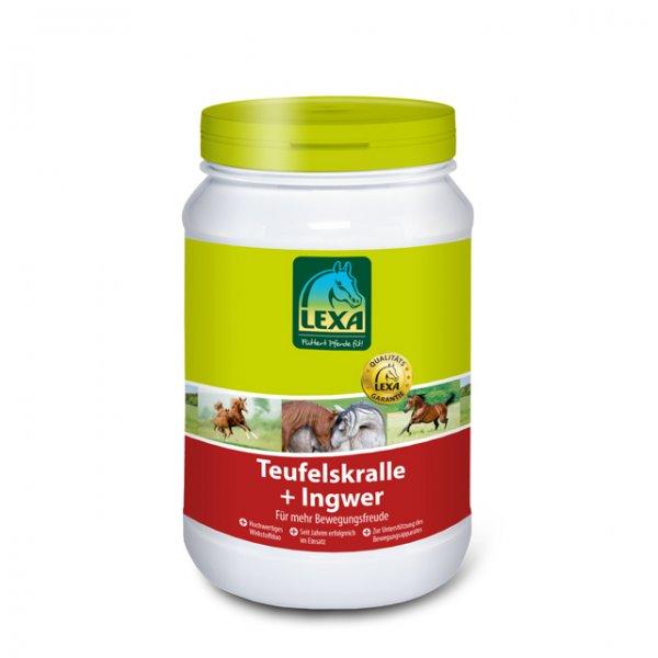 Lexa Djæveleklø og Ingefær (pell.) til heste, 1 kg