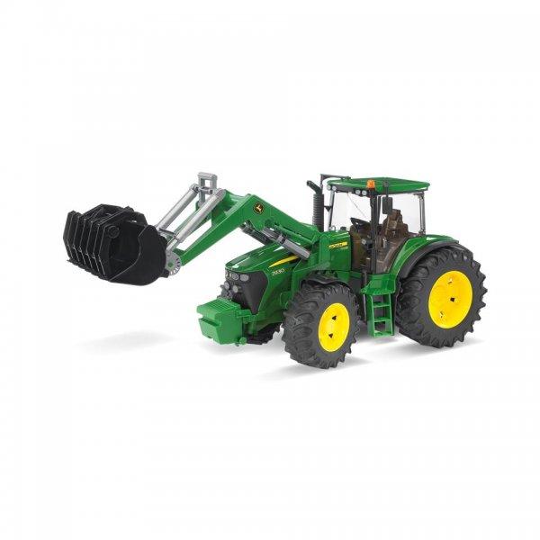 Bruder John Deere Traktor 7930 med frontlæsser