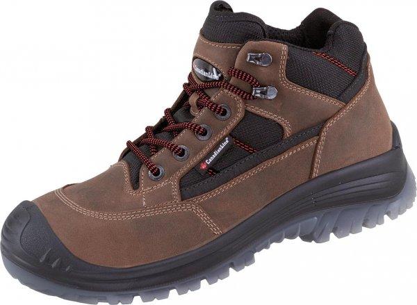 CanadianLine Sikkerhedsarbejdssko Sherpa, brun/sort