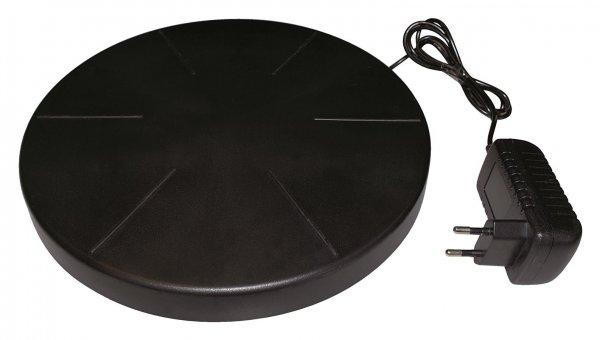 Ryom Varmeplade til fjerkræ, skridsikker 25 cm, 24V , Ø 25 cm