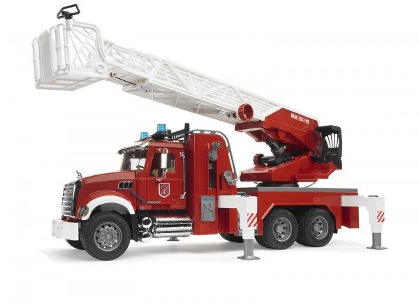 Bruder MACK Granite Brandbil med stige og pumpe