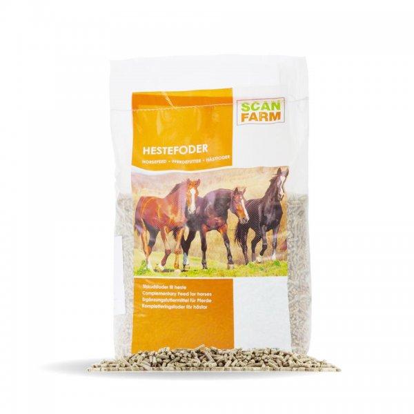 Scanfarm Tilskudsfoder til heste, 15 kg