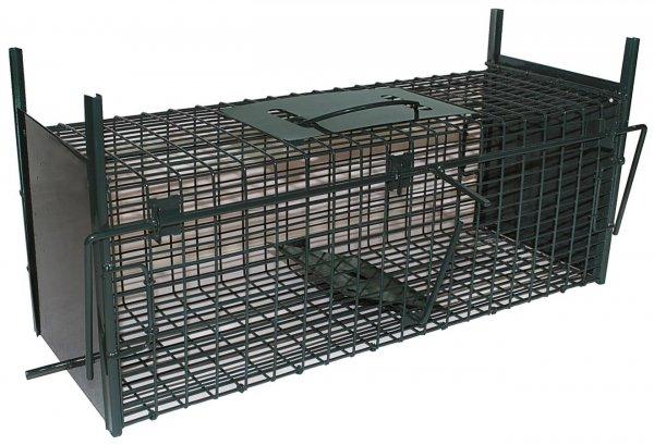 Ryom Trådfælde med faldlem 2 indgange, 53 cm