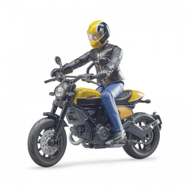 bworld Scrambler Ducati politi-motorcykel