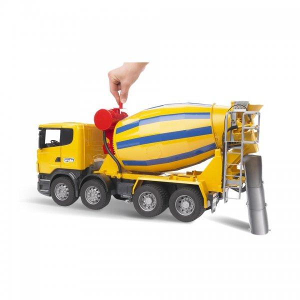 Bruder Scania Lastbil R-Serie med Cementblander