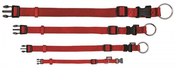 Trixie Premium halsbånd, str. XS-S: 22-35 cm/10 mm, rød