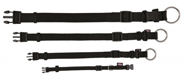 Trixie Premium halsbånd, str. S-M: 30-45 cm/15 mm, blå