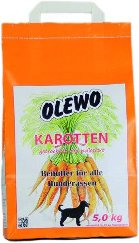 Olewo gulerods-piller til hunde, 5 kg