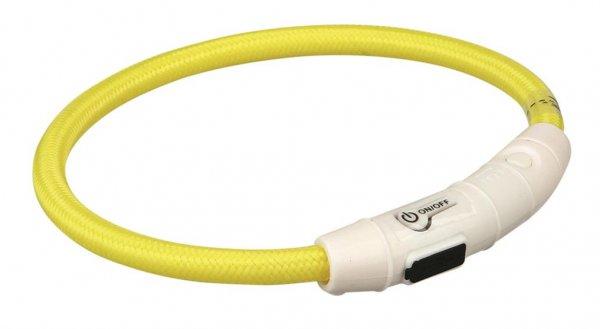 Trixie USB Flash Lyshålsband, XS-S, 35cm