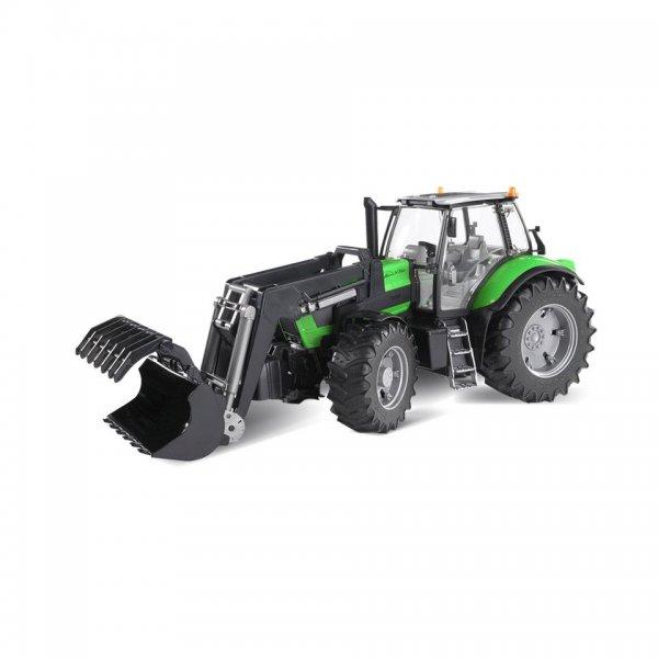 Bruder Deutz Traktor Agrotron X720 med frontlæsser
