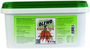 Olewo gulerods-piller med olie til heste, 4 kg