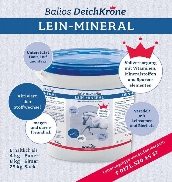Balios Best Mineral til heste, 4 kg