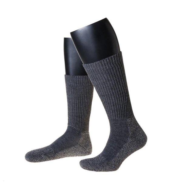 Nordpol Funktionssokke F2 med splittingfodsål, lang, grå