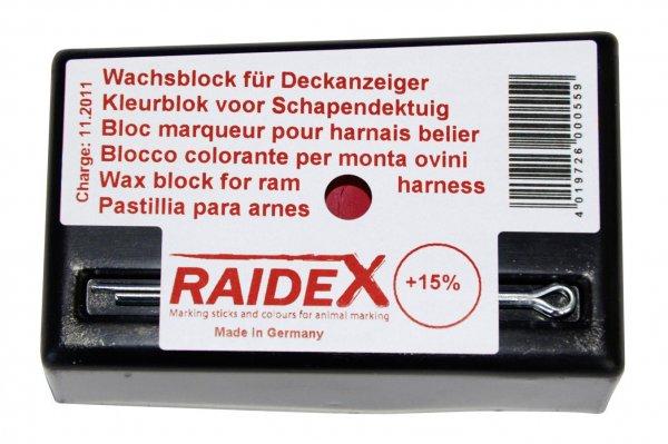 Kerbl Kridt rød, original Raidex