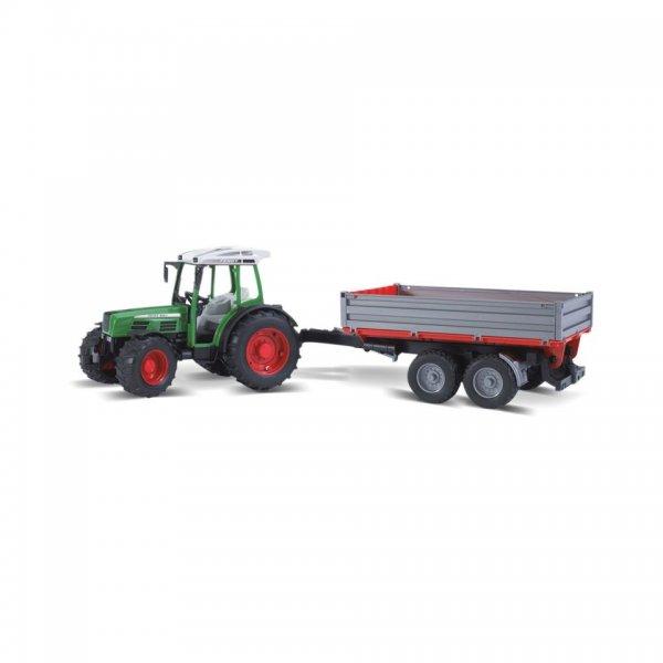 Bruder Fendt Traktor 209 S med tipvogn