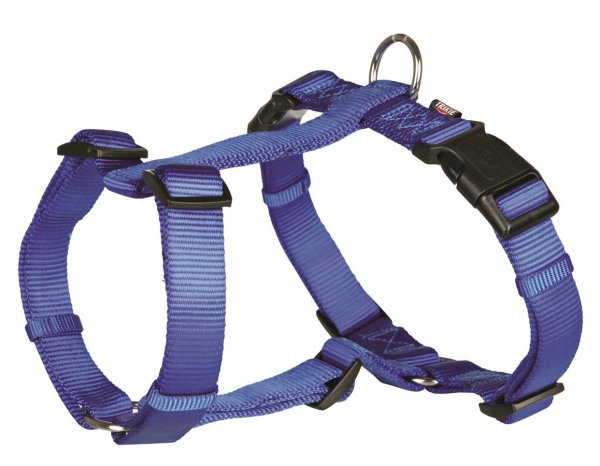 Trixie Premium H-seletøj, str. Xs-s: 30-40 cm/10 mm, blå