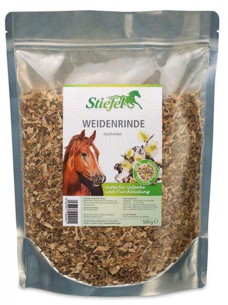 Stiefel Pilebark til heste, 500 g