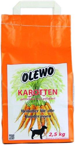 Olewo gulerods-piller til hunde, 2,5 kg