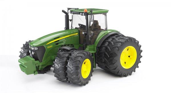 Bruder John Deere Traktor 7930 med tvillingehjul