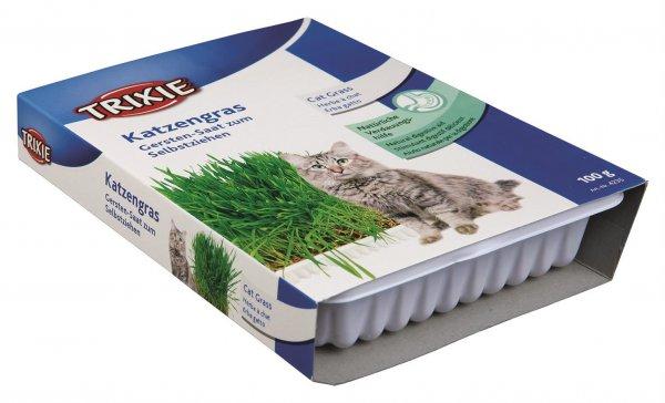 Trixie Kattegræs, skål/ca. 100 g