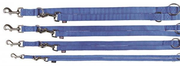 Trixie Premium V-snor, str. M-L: 2,00 m/20 mm, blå