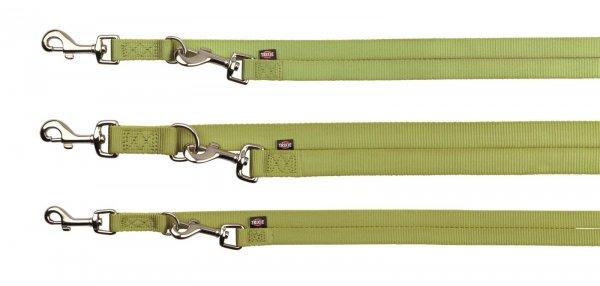 Trixie Premium V-snor, str. XS-S: 2,00 m/15 mm, lindgrøn