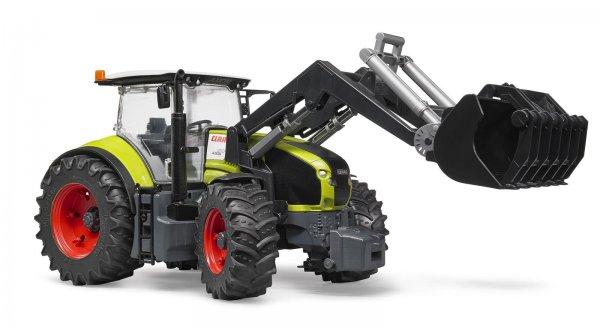 Bruder Claas Traktor Axion 951 med frontlæsser
